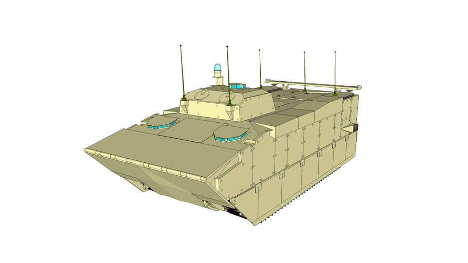 USMC - Expeditionary Fighting Vehicle - Command and Control