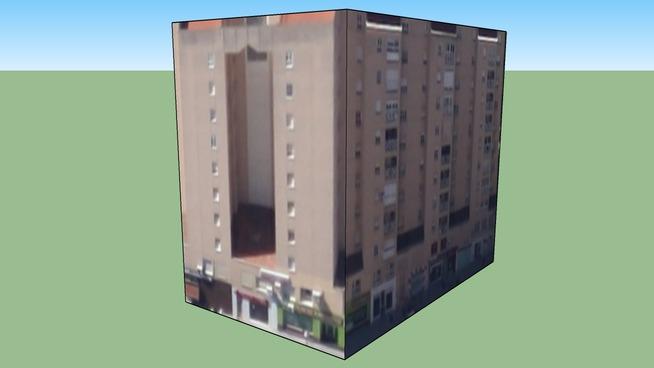 Building in Tierra de Badajoz, España