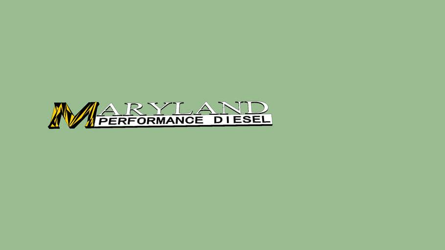 Maryland performance diesel logo