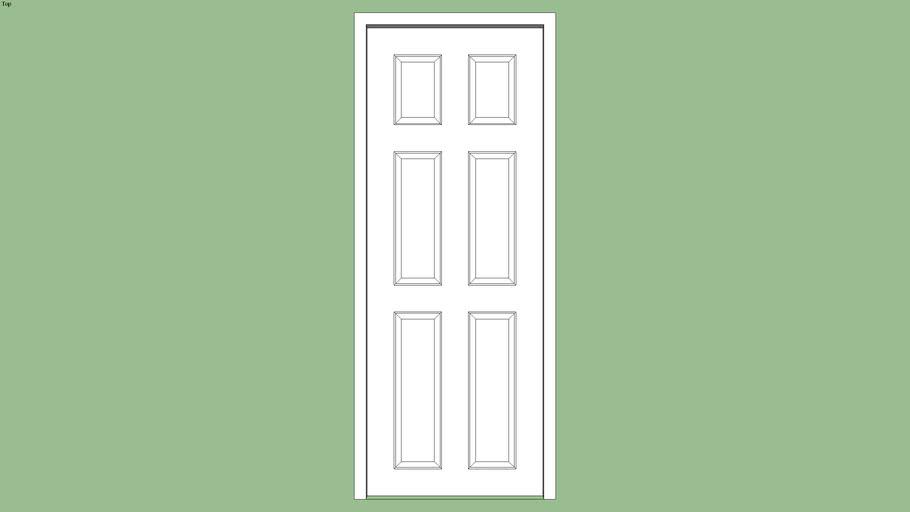 Panel Door.skp