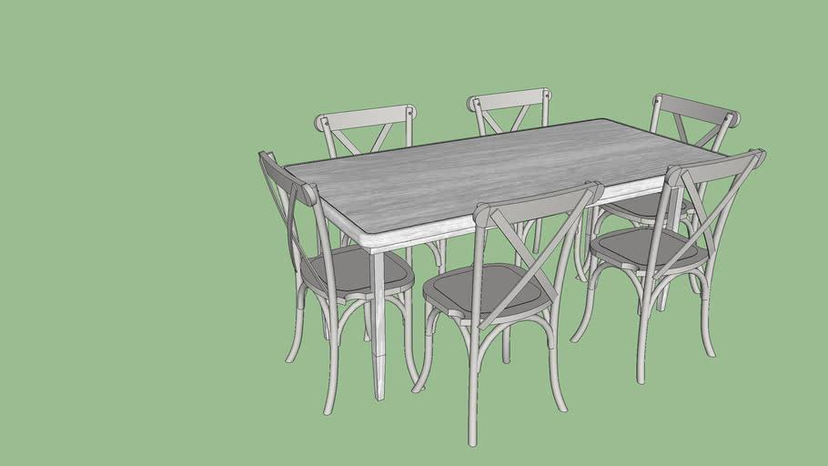 테이블 의자
