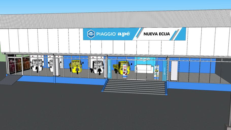 Piaggio APÉ Nueva Ecija dealership Fascade