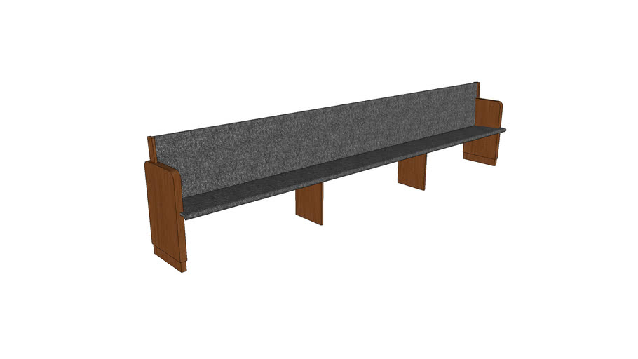 Church Pew Assembly