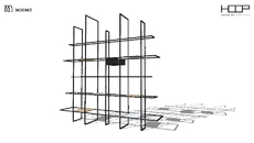 ID_Wall/Partition/Bookshelf