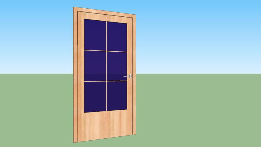 Wooden Interior Door LP2