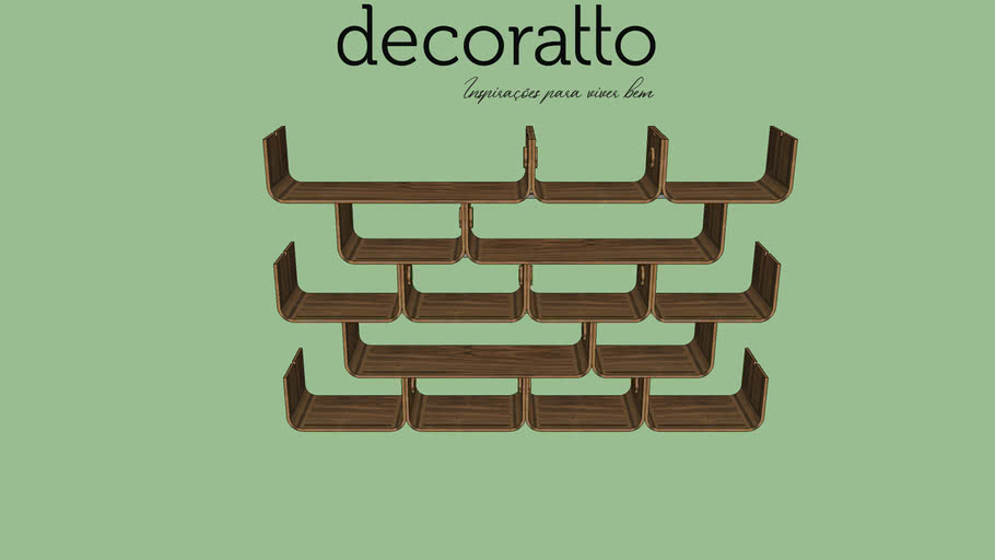 ESTANTE DECORATTO