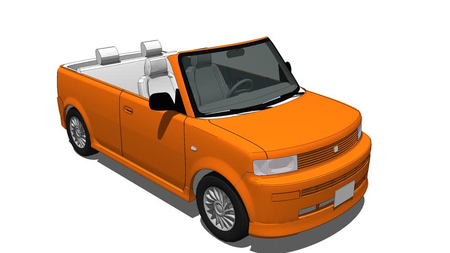 Scion xB - Toyota bB Convertible