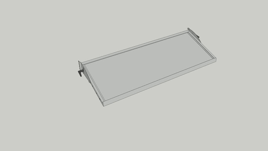 SSG Adjustable Shelf A S135x500 ESD Complete  Item No. 200214-52