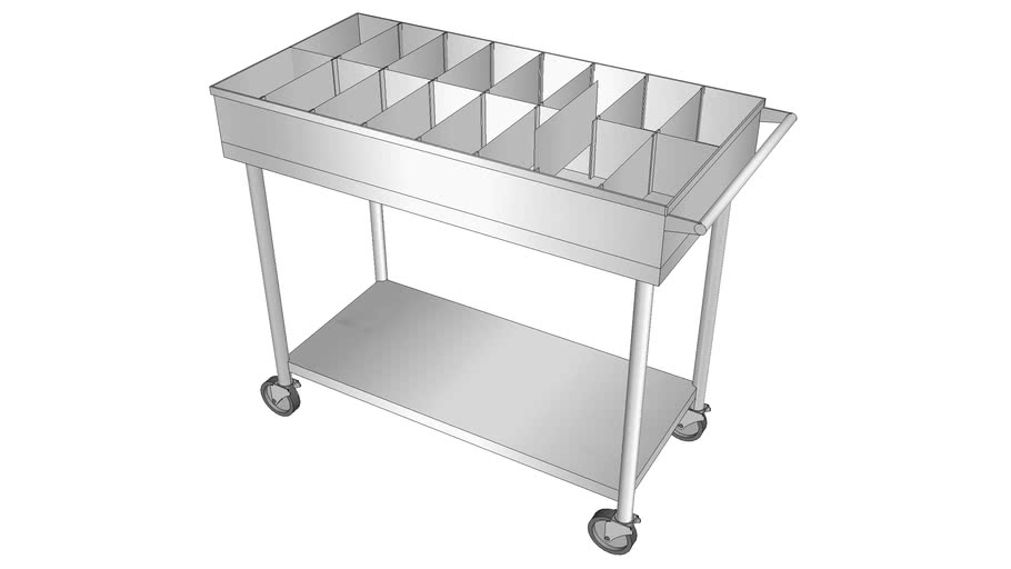 Stainless Steel Pharmacy Table