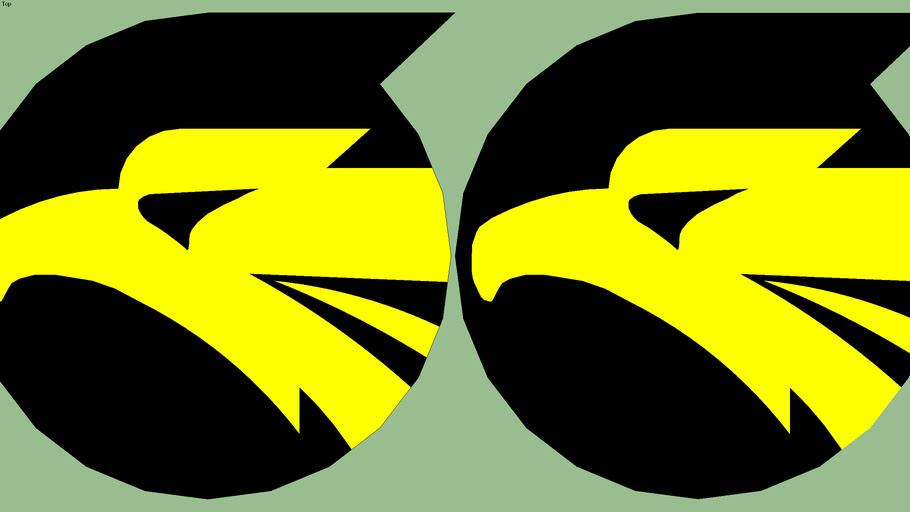 Emblem of JASDF 306th Tactical Fighter Squadron / 航空自衛隊 第306飛行隊 部隊章