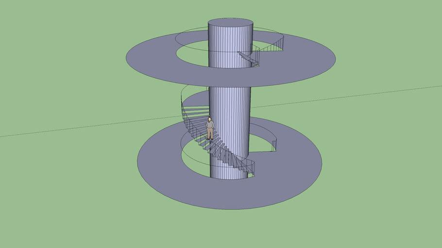 Rotating Staircase 2