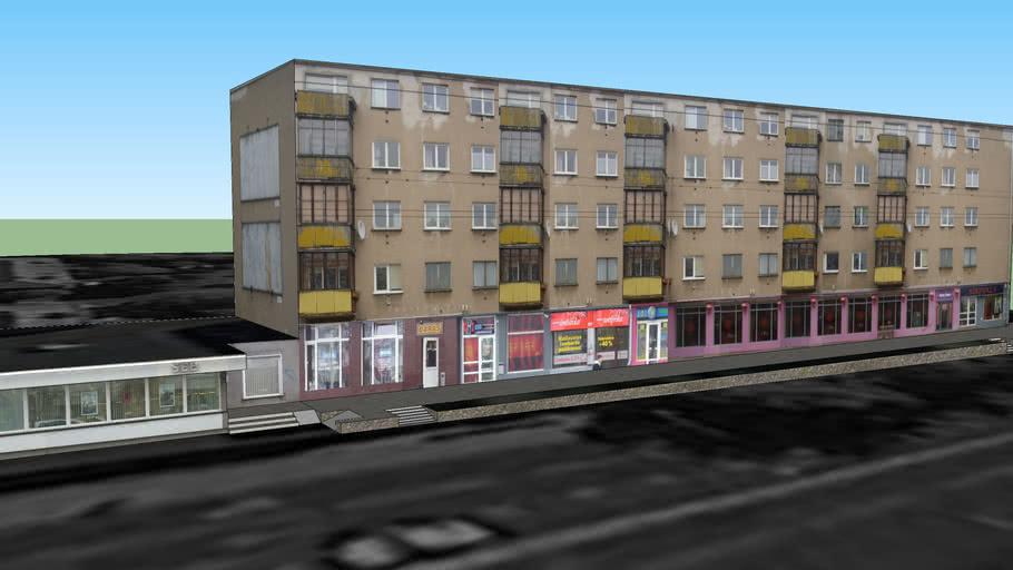 Antakalnio g. 39, Vilnius - penkiaaukštis daugiabutis