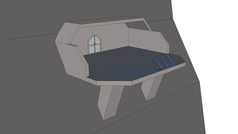 Halo-style Landing pad