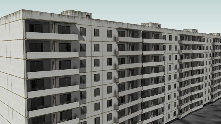 Дом в Припяти по ул Лазарева 9 house in Pripyat Lazarev str 9