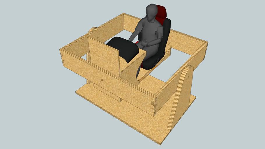 DIY motion flight simulator