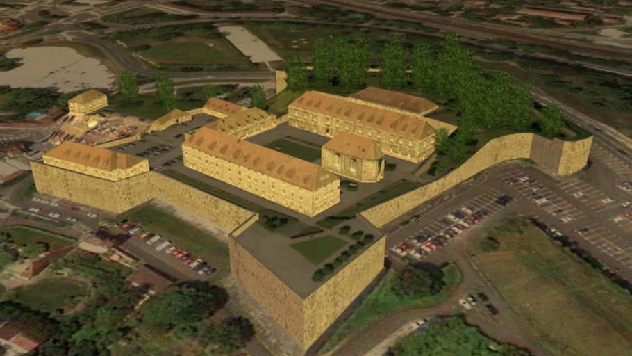 Fort Griffon de Besançon (par Vauban)