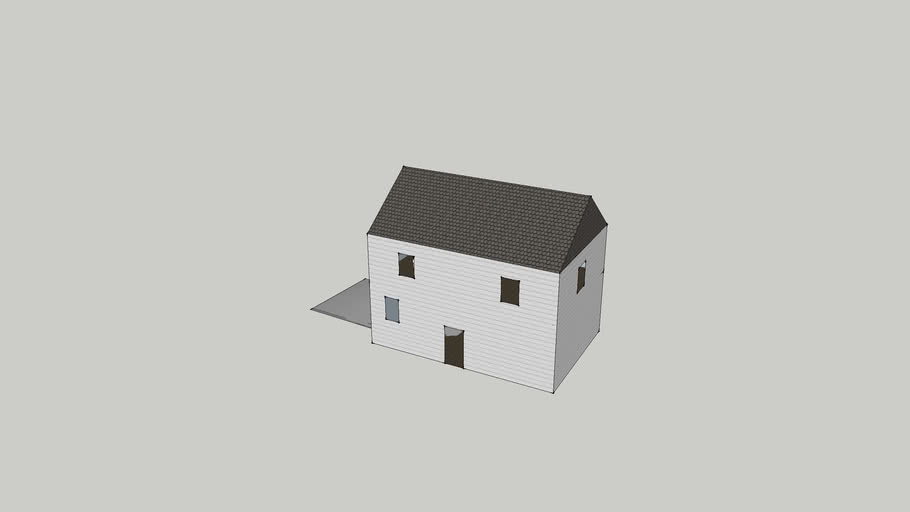 my two story house