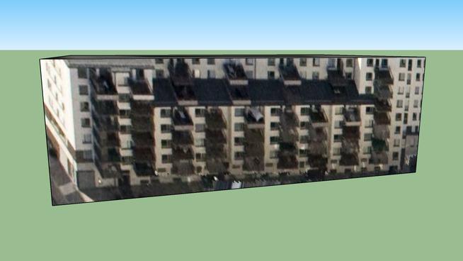 Stokholm ili, İsveç adresindeki yapı