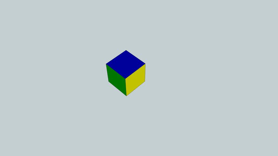 Colour controller cube