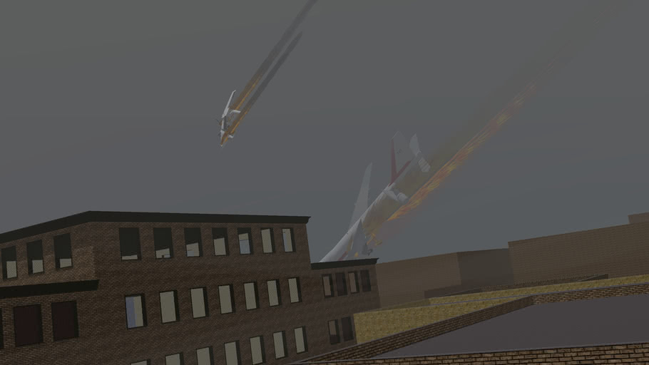 BREAKING NEWS: 20,000 People die when a 747 Crashes into a City
