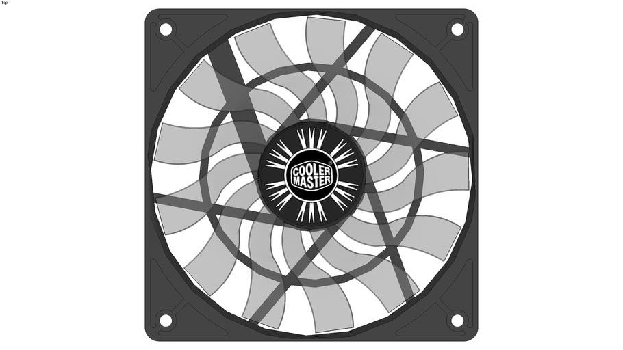 Cooler master XtraFlo slim 120mm x 15mm fan