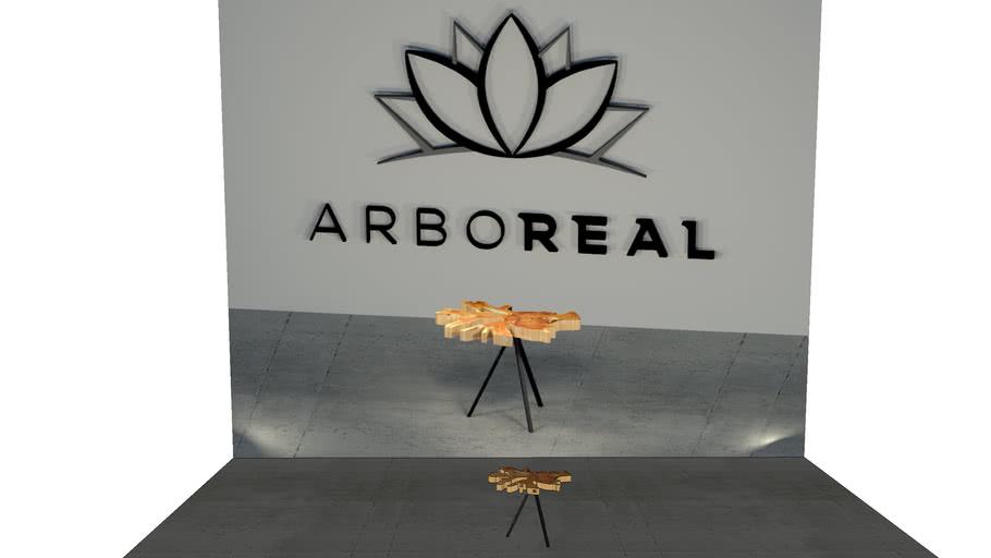ArboREAL - Mesa Lateral Teca