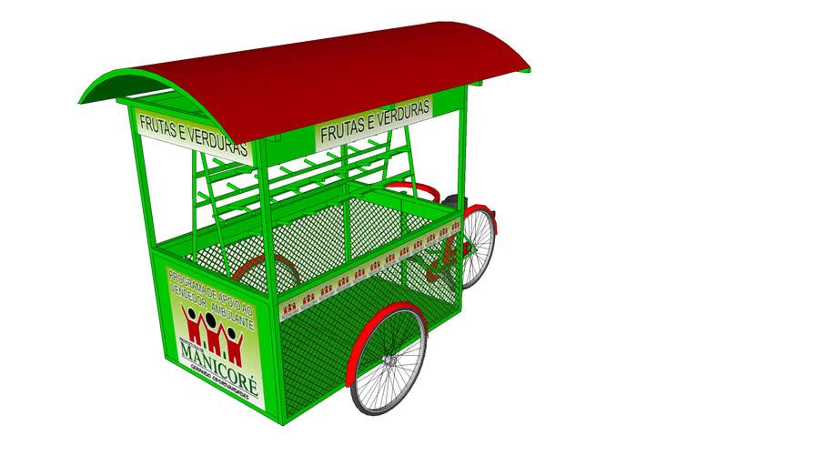 Carrinho Para Verduras E Frutas Prefeitura De Manicoré 3d Warehouse