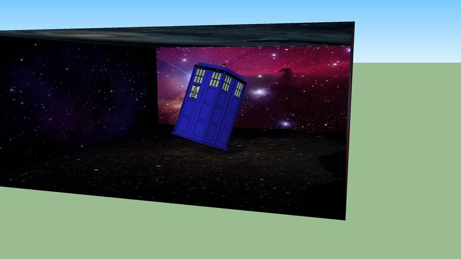Tardis in SPACE!