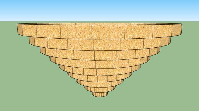 Пирамида с горкой