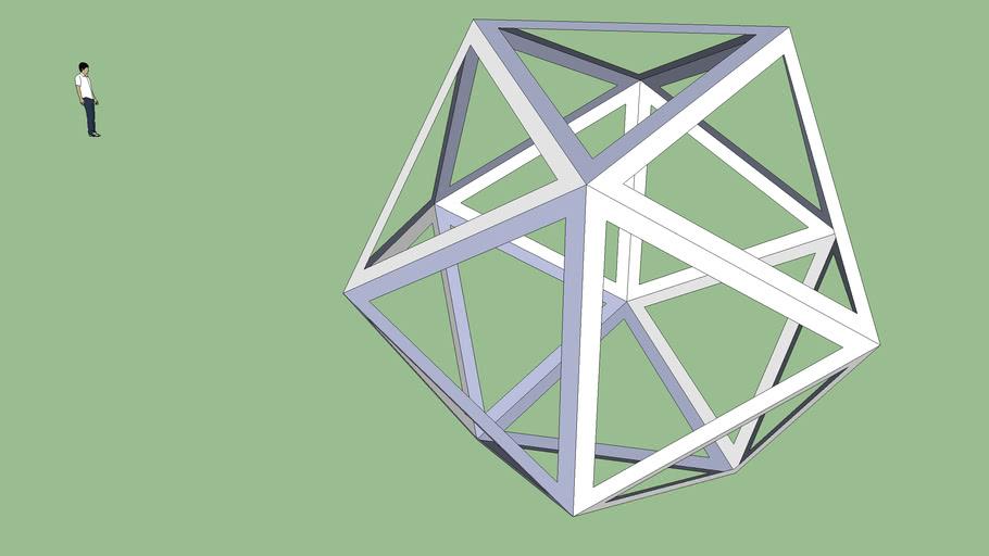 Paolo - Icosaedro Bucato