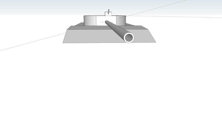 H5 tank 145mm