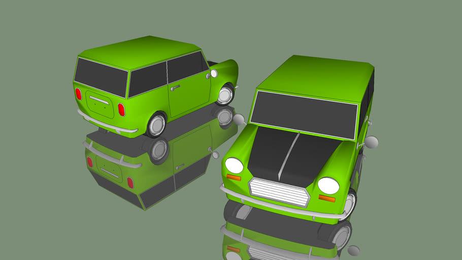 Mr.Bean Official Car Mini Minor