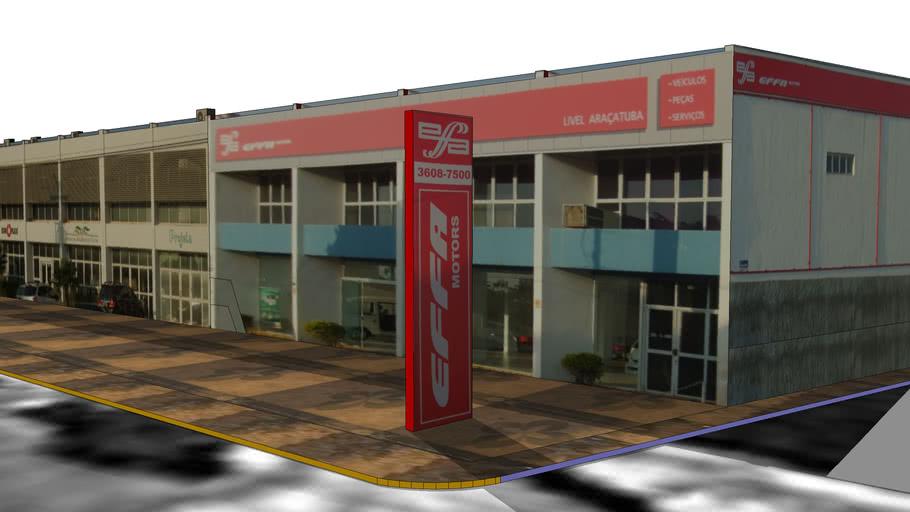 Conjunto comercial av. brasilia araçatuba