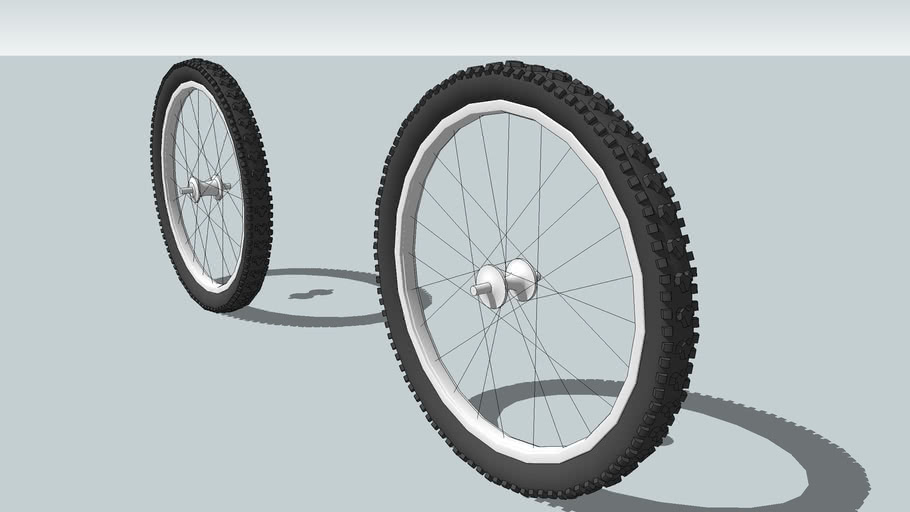 mountain bike wheel n tire