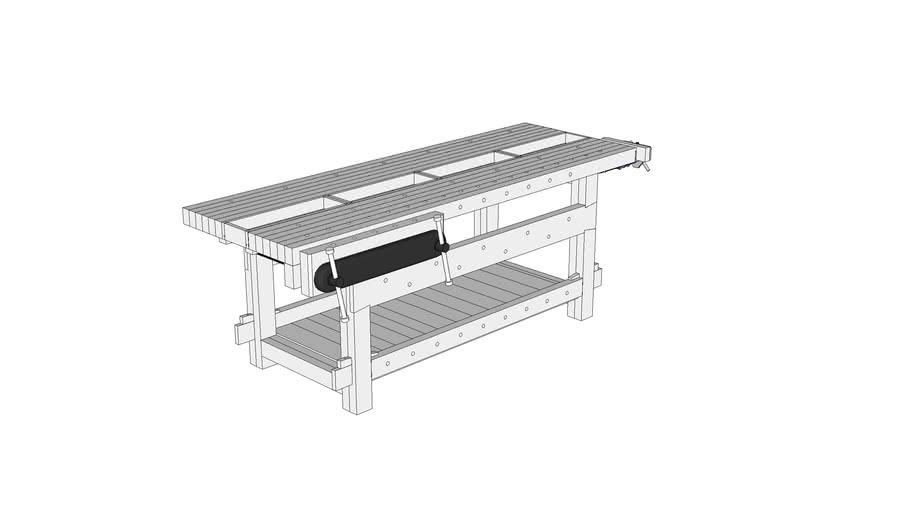 21st Century Workbench, Featured in October 2008 Popular Woodworking