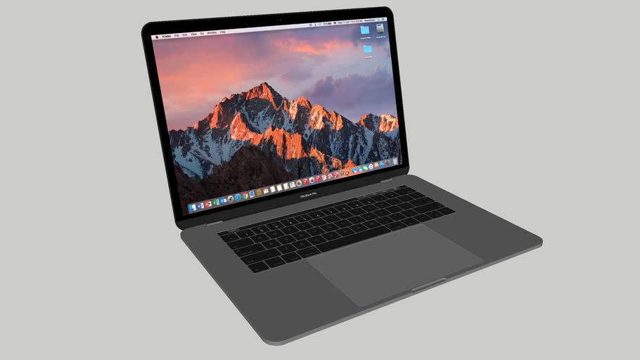 """2016 MacBook Pro 15"""" (Space Grey)"""