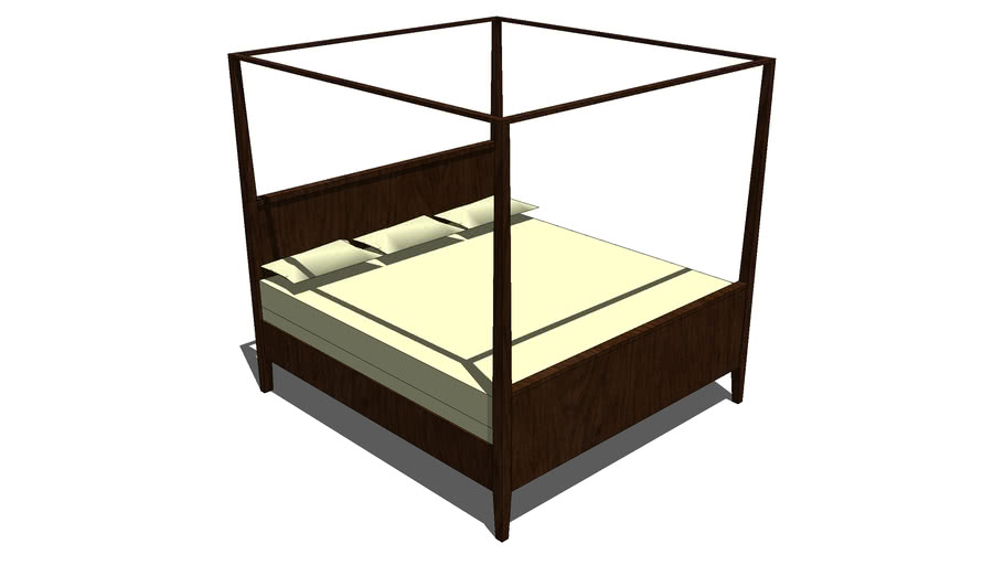 BED KING kanopy