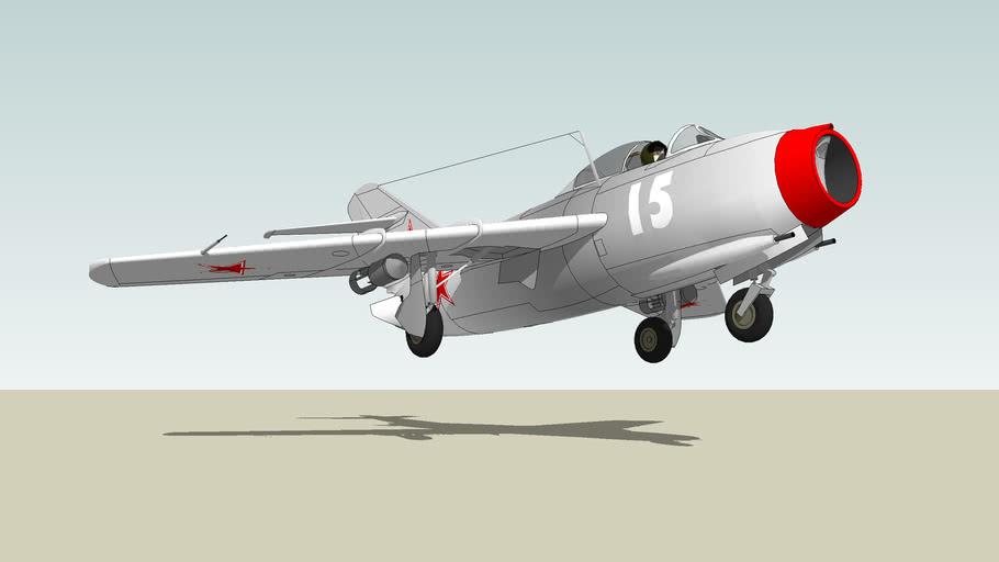 """Mikoyan-Gourevitch MiG-15 """"Fagot"""""""