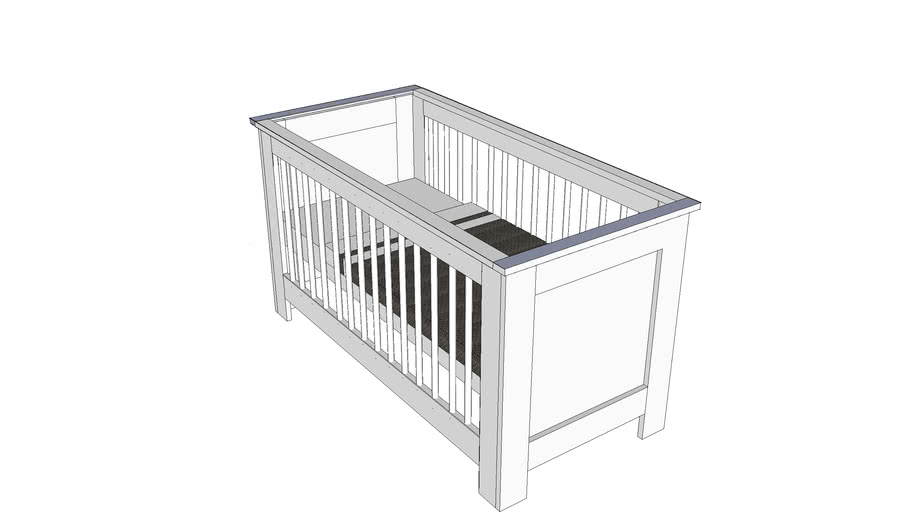 New Basic Baby bed from Coming Kids