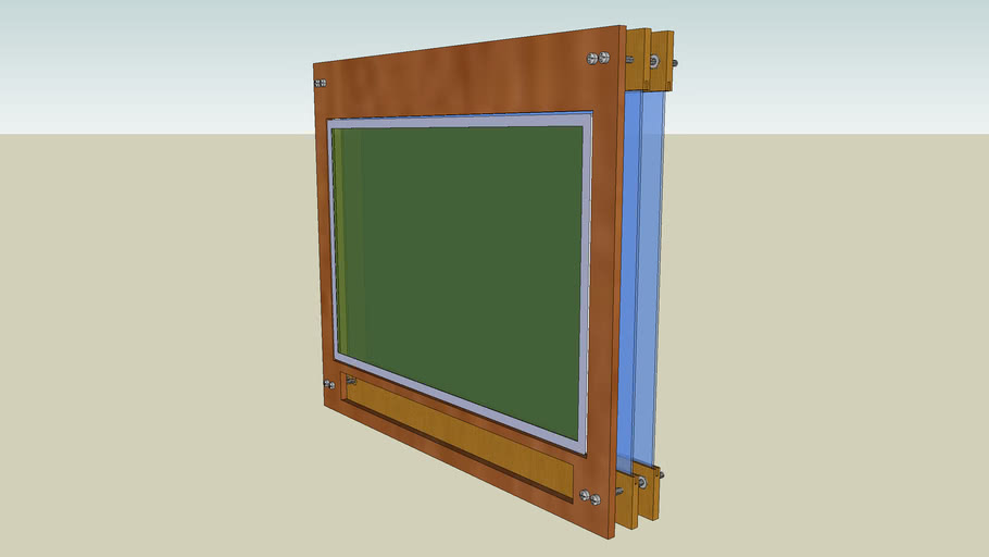 Projector Screen and Fresnel Plan