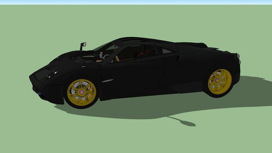 Pagani Huayra Prototipo3