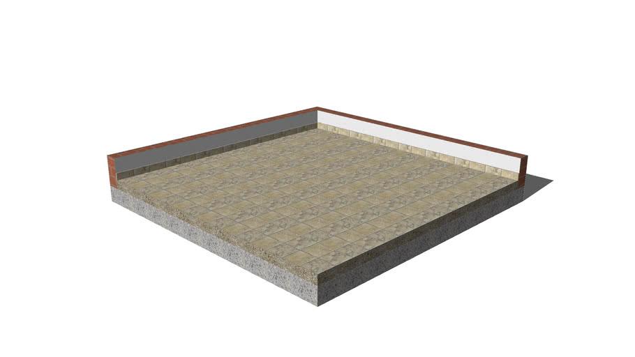 Vloertegel 400x400 natuursteen type 1792 ( vloeren )