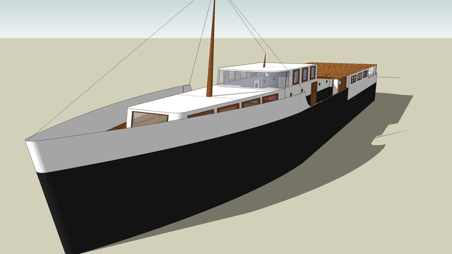 Old Yacht Not done