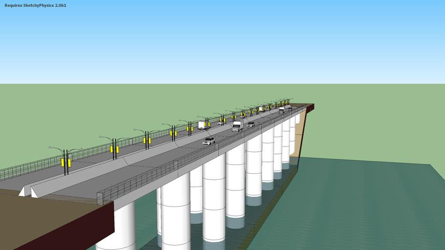 destroyable bridge