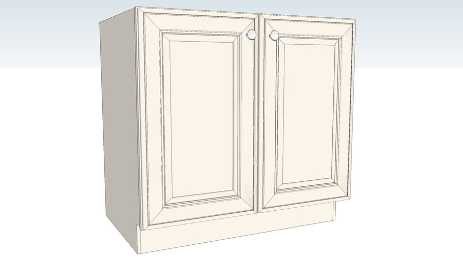 Base Full-Height Double Door