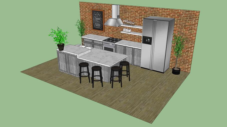 Big industrial kitchen