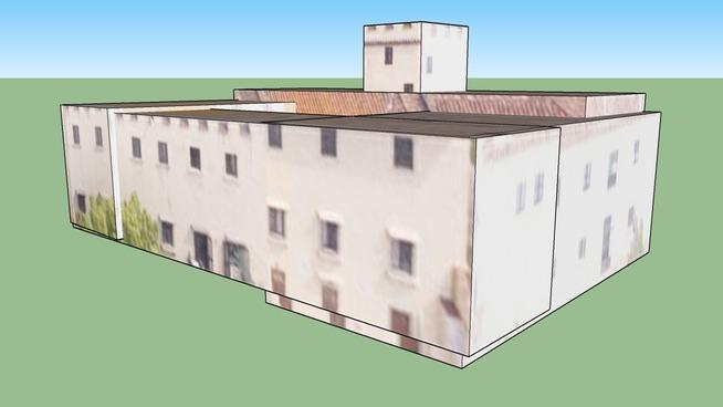 Budynek przy Fiesole Florencja, Włochy