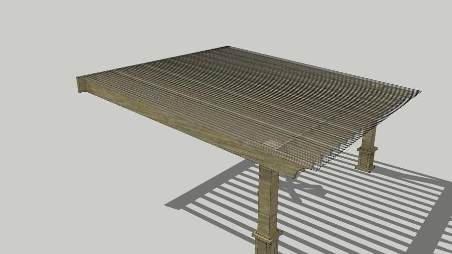 Wood Pergola Structure