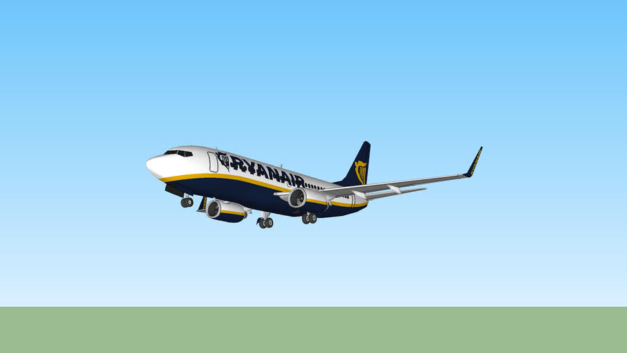 Boeing 737-200SP Ryanair