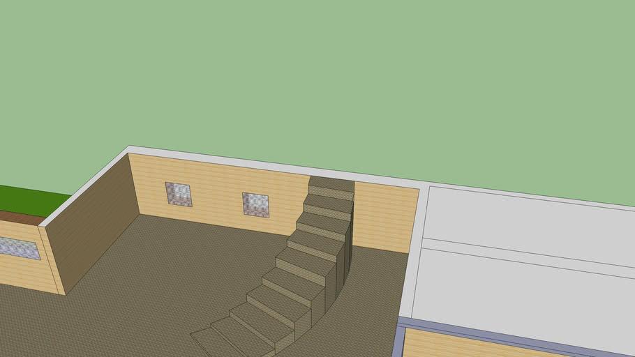 poolhouse not finished